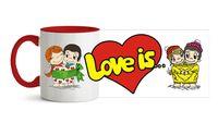 "Кружка ""Love is"" (арт. 711)"