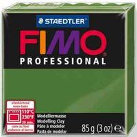 """Глина полимерная """"FIMO Professional"""" (зеленый лист; 85 г)"""