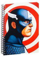 "Блокнот в клетку ""Marvel"" (А5; арт. 015)"