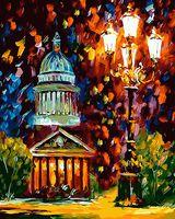 "Картина по номерам ""Огни ночного Питера"" (400х500 мм)"