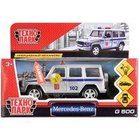 """Модель машины """"Mercedes-Benz G-Class. Полиция"""" (со световыми и звуковыми эффектами; арт. G-СLASS-P-SL)"""