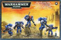 "Набор миниатюр ""Warhammer 40.000. Space Marine Assault Squad"" (48-09)"