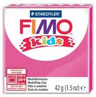 """Глина полимерная """"FIMO Kids"""" (розовый; 42 г)"""