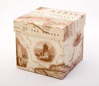 "Подарочная коробка ""Colonial Maps"" (11х11х11 см)"