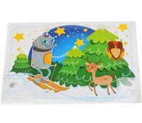 """Набор для изготовления электронной открытки """"Робот-лыжник"""""""