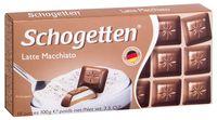 """Шоколад молочный """"Schogetten"""" (100 г; с кремовой кофейно-молочной начинкой)"""