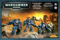 "Набор миниатюр ""Warhammer 40.000. Space Marine Terminator Assault Squad"" (48-34)"