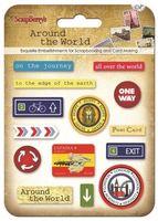 """Наклейки эпоксидные """"Around the World"""""""