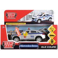 """Модель машины """"Mercedes-Benz Gle Coupe. Полиция"""" (со световыми и звуковыми эффектами; арт. GLE-COUPE-P-SL)"""