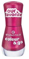 Лак для ногтей colour & go, малиновый (№ 169; 8 мл)