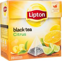 "Чай черный ""Lipton. Citrus Tea"" (20 пакетиков)"