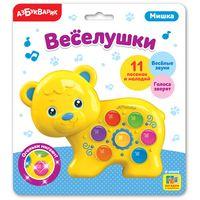 """Музыкальная игрушка """"Веселушки. Мишка"""" (со световыми эффектами)"""