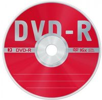 Диск DVD-R 4.7Gb 16X Data Standard slim