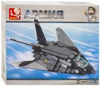 "Конструктор ""Армия. Бомбардировщик F-117"" (209 деталей)"