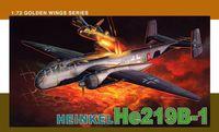 "Истребитель ""Heinkel He219B-1"" (масштаб: 1/72)"