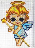 """Вышивка крестом """"Ангелочек"""""""
