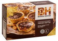 """Пирожные """"Baker House. Мини-тарты с карамельно-арахисовой начинкой"""" (240 г)"""