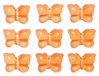 """Набор декоративных элементов """"Бабочки"""" (оранжевый)"""