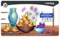 """Цветные карандаши """"LYRA REMBRANT POLYCOLOR"""" (36 цветов)"""