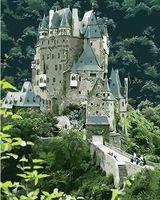 """Картина по номерам """"Замок на скале"""" (400x500 мм; арт. MG7545)"""