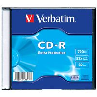 Диск CD-R 700Mb 52х Extra Protection Verbatim Slim
