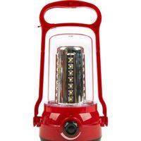 Аккумуляторный кемпинговый фонарь 35+6 LED (красный)