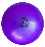 Мяч для художественной гимнастики АВ2801 (фиолетовый)
