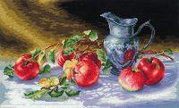 """Вышивка крестом """"Сочные яблоки"""" (380х250 мм)"""