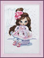 "Вышивка крестом ""Кукла Даша"" (220x270 мм)"