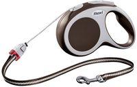 """Поводок-рулетка для собак """"Vario"""" (коричневый, размер S, до 12 кг/5 м, арт. 12017)"""