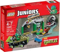 """LEGO Juniors """"Логово черепашек"""""""