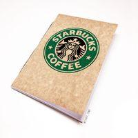 """Блокнот крафт """"Старбакс кофе"""" А5 (арт. 504)"""