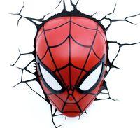 Декоративный светильник - Человек-паук. Маска