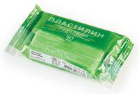 Пластилин особо мягкий кукурузный (40 г; зеленый неоновый)