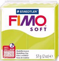 """Глина полимерная """"FIMO Soft"""" (зеленый лайм; 57 г)"""