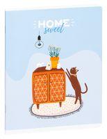 """Тетрадь полуобщая в клетку """"Рисунки. Sweet Cat"""" (48 листов)"""