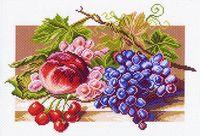 """Канва с нанесенным рисунком """"Солнечные плоды"""""""