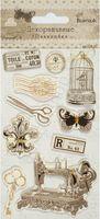 Наклейки объемные декоративные (10 шт.; арт. CP-27)