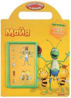 Пчёлка Майя. Развивающая книжка с наклейками