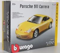"""Модель машины """"Bburago. Porsche 911 Carrera"""" (масштаб: 1/24; арт. 18-25111)"""