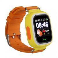 Детские часы SmartBabyWatch Q80 (желтые)
