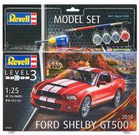 """Сборная модель """"Автомобиль Ford Shelby GT 500 2010"""" (масштаб: 1/25)"""