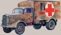 "Автомобиль ""Kfz. 305 Ambulance"" (масштаб: 1/72)"