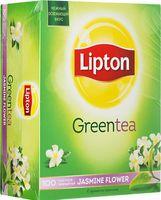 """Чай зеленый """"Lipton. Jasmine Flower"""" (100 пакетиков)"""
