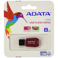 USB Flash Drive 8Gb A-Data UV100 (Red)