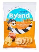 """Чипсы рисовые """"B.Yond. Со вкусом сыра Чеддер и томатного чатни"""" (70 г)"""