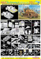 """Набор миниатюр """"Sd.Kfz.7/1 2cm Flakvierling 38 w/Armor Cab"""" (масштаб:1/35)"""