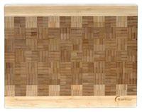 Доска разделочная бамбуковая (355х280х32 мм)