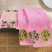 Полотенце махровое (2 шт.; розовое)