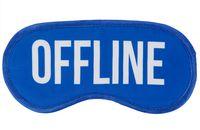 """Маска для сна """"Offline"""""""